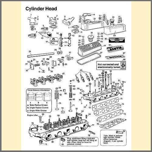 Cylinder Head & Components