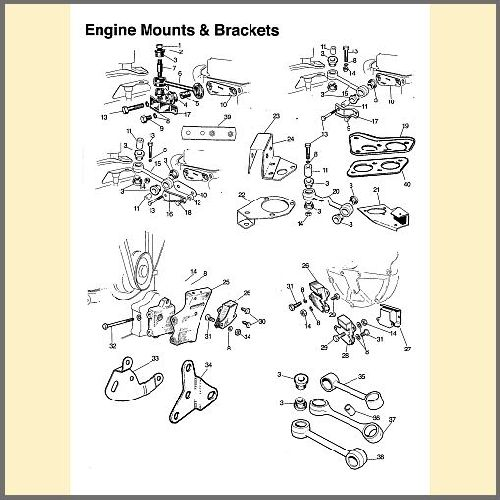 Engine Mounts & Brackets